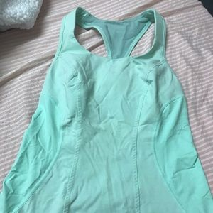 Teal Lululemon Top